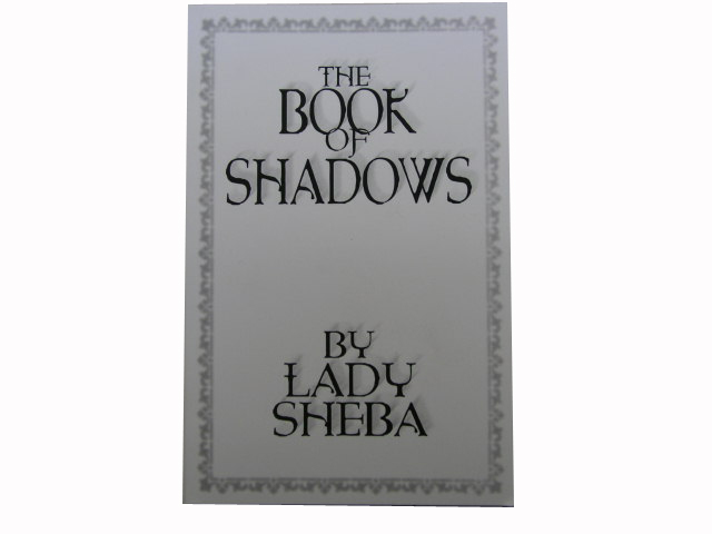 Book of Shadows - Lady Sheba
