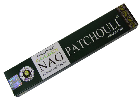 Incenso Golden Nag Patchouli 15gr