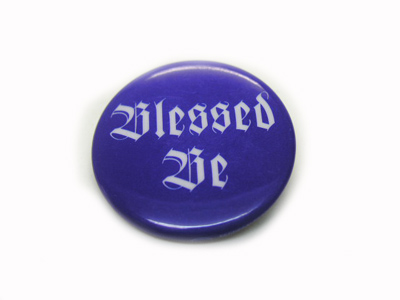 "Pin ""Blessed Be"""