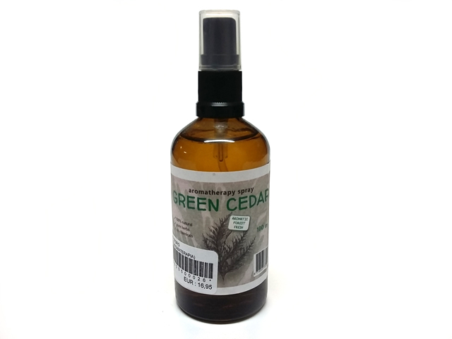 Spray Cedro Verde (Aromaterapia)
